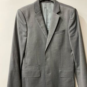 Grey suit jacket - 36R